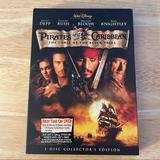 Disney Other   Pirates Of The Caribbean: Curse Black Pearl 2 Dvd   Color: Black   Size: Os
