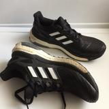 Adidas Shoes   Adidas Energy Boost Knitted Athletic Sneakers   Color: Black/White   Size: 6