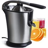 Chuzy Chef Citrus Juicer in Black/Orange, Size 13.2 H x 10.25 W x 9.25 D in   Wayfair 30066-ECJ