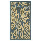 Safavieh Blue/Ivory Area Rug in White, Size 91.0 H x 63.0 W in | Wayfair CY2961-3103-5