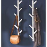 Latitude Run® Premiumracks White Coat Rack & Hat Rack Metal in Gray, Size 39.0 H x 10.5 W x 5.25 D in | Wayfair A4B595B55CD642409A15702EF47B91B4