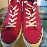 Converse Shoes   Converse Unisex Chuck Taylor Ext Street Mid Jester   Color: Red/White   Size: 13