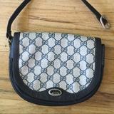 Gucci Bags | Gucci Vintage Monogram Wristlet Clutch Mini Purse | Color: Black | Size: Os