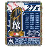 Yankees Commemorative Series Throw by MLB in Multi
