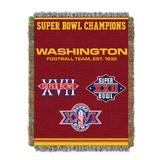 Washington FT Commemorative Series Throw by NFL in Multi