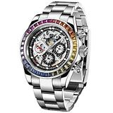 Pagani Design Men's Multi-Function Mechanical Watch Waterproof Watches Business Casual Stainless Steel Automatic Watch Wrist Watch for Men