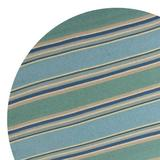 Rosecliff Heights Marianne Striped Green/Area Rug Viscose in Blue, Size 84.0 W x 1.0 D in | Wayfair 4EF0B03517D54A1880602B8981C7596F