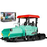 IIIL Metal Die-Cast Dump Truck Road Roller Engineering Vehicle 1/40 Scale Alloy Paver Toy Construction Alloy Models Toys for Kids and Decoration for House,Blue