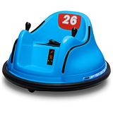 Bumper Car for Kids - Kids Ride On Toys - Ride On Car with Remote Control Kid Toys Electric Vehicle Car for Kids Boys Girls 360° Spinning Car Safety Kid Car Children Toys Gifts for Birthday (Blue)