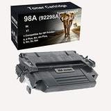 1-Pack Compatible Toner Cartridges Used for 4, 4 Plus, 4m, 4m Plus, 5, 5m, 5n, 5se Laser Printer Cartridges Replacement for HP 98A 92298A Toner Cartridges (Black, High Yield)