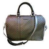 Gucci Nice Microguccissima Leather Boston Bag