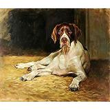 Puzzles 1000 Pieces  Great Dane Dog Animal Oil Painting(50x75cm)Puzzle Games, Educational Games, Brain Challenge Puzzles for Adults