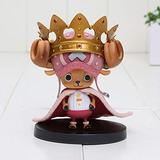 Anime Figure Model Doll One Piece Figurine Crown Tony Chopper PVC Model Character Toy-A Height Approx 10CM PVC Figure Collectible Model Toy Doll Gift for Kids