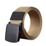 SKREOJF Casual Plastic Automatic Buckle Canvas Belts for Men Belt Designer Belts Men Male Strap (Color : C)