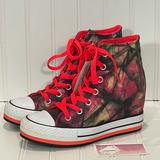 Converse Shoes | Converse Chuck Taylor Hidden Heel Wedge | Color: Black/Pink | Size: Various