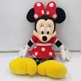 Disney Toys   Disney Minnie Mouse Plush 18in Toy Stuffed Animal   Color: Black/Red   Size: 18in
