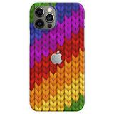Colorful Woven Pattern iPhone Case, iPhone Cover -   Phone Case for iPhone 11, iPhone 11 Pro, iPhone XR, iPhone 7/8 / SE 2020  Phone Case for All iPhone 12, iPhone 11, iPhone 11 Pro, iPhone XR, iPh