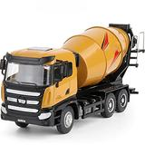 IIIL Alloy Mixer Toy 1:50 Die-Cast Construction Vehicle Model, Inertial Advance, Collection/Decoration/Gift/Toy