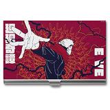 Anime Business Card Case, Credit Card Holder for Women Men Aluminum Alloy Stainless Steel Multi Card Case Id Cards, Driving Licenses, Debit Cards, Insurance Cards, Gift Cards 3.7''X2.2''