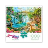 Buffalo Games Puzzles - Aimee Stewart Majestic Tiger Grotto 1000-Piece Puzzle