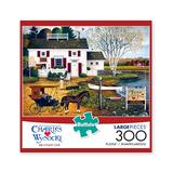 Buffalo Games Puzzles - Charles Wysocki: Birch Point Cove 300-Piece Puzzle