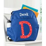 Personalized Planet Backpacks - Blue Star-Fill Personalized Name & Initial Backpack
