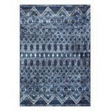nuLOOM Indoor Rugs Navy - Blue Distressed Teresa Rug
