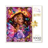 Buffalo Games Puzzles - Flights of Fantasy Summer Queen Glitter Edition 1000-Piece Puzzle