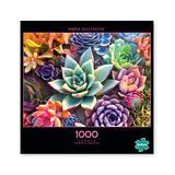 Buffalo Games Puzzles - Photography Simple Succulent 1000-Piece Puzzle