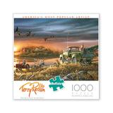 Buffalo Games Puzzles - Terry Redlin: Patiently Waiting 1000-Piece Puzzle