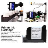 Printer Ink Cartridge - Inkjet Printer Ink Handheld Quick-Drying Black Inkjet Consumables 2688+ 42ml