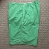 Polo By Ralph Lauren Swim | Polo Ralph Lauren Mens Green Swim Trunks 3x Big | Color: Green | Size: 3xl