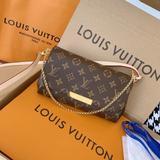 Louis Vuitton Bags | Louis Vuitton Old Pattern Chain Shoulder Bag 22x13 | Color: Brown | Size: Os