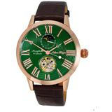 Ak2269 Automatic Green Dial Watch -rggn - Green - Adee Kaye Watches