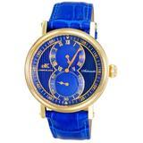 Ak5665 Automatic Blue Dial Watch -bu - Blue - Adee Kaye Watches