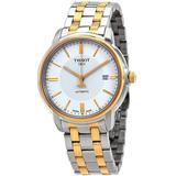 T-classic Automatic Iii White Dial Watch 00 - Metallic - Tissot Watches