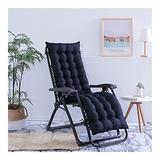 QIANGU Back and Seat Cushion for Office Chair Desk Chair Dining Chairs Kitchen Chair Lounge Chair Swing Bench Cushion(Does Not Include Chairs) (Color : Black, Size : 17053cm)