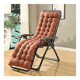 QIANGU Back and Seat Cushion for Office Chair Desk Chair Dining Chairs Kitchen Chair Lounge Chair Swing Bench Cushion(Does Not Include Chairs) (Color : Brown, Size : 17053cm)