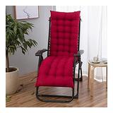 QIANGU Back and Seat Cushion for Office Chair Desk Chair Dining Chairs Kitchen Chair Lounge Chair Swing Bench Cushion(Does Not Include Chairs) (Color : Red, Size : 17053cm)