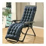 QIANGU Back and Seat Cushion for Office Chair Desk Chair Dining Chairs Kitchen Chair Lounge Chair Swing Bench Cushion(Does Not Include Chairs) (Color : Blue, Size : 17053cm)