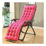 QIANGU Back and Seat Cushion for Office Chair Desk Chair Dining Chairs Kitchen Chair Lounge Chair Swing Bench Cushion(Does Not Include Chairs) (Color : Pink, Size : 15553cm)