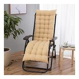QIANGU Back and Seat Cushion for Office Chair Desk Chair Dining Chairs Kitchen Chair Lounge Chair Swing Bench Cushion(Does Not Include Chairs) (Color : Light Brown, Size : 15553cm)