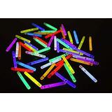50ct DirectGlow 1.5 inch 9 Color Assorted Mini Glow Sticks