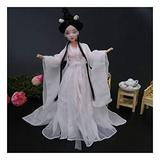 Siunwdiy China Doll for Girls, Jointed Doll Dress Doll Gorgeous,Beautiful Palace Concubine People Dolls Chinese Ancient Costume Goddess,#017,30cm