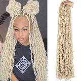 36 Inch Passion Twist Hair Water Wave Crochet Braids for Butterfly Locs Passion Twist Crochet Hair Passion Twist Braiding Hair Hair Extensions 21 Strands/Pack (36 Inch) A,14 inches