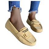 Qisemi Tassel Sandals for Women Dressy Metal Buckle Casual Flat Sandals Shoes Summer Beach Travel Light Mouth Roman Shoe