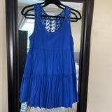 American Eagle Outfitters Dresses | American Eagle Babydoll Dress | Color: Blue | Size: Xs