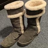 Michael Kors Shoes | Michael Kors Winter Boots | Color: Gray/White | Size: 9