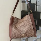 Coach Bags   Coach Signature Handbag Crossbody   Color: Brown   Size: Os