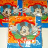 Disney Other   Mickey Mouse Party Napkins   Color: Blue/Red   Size: Osbb